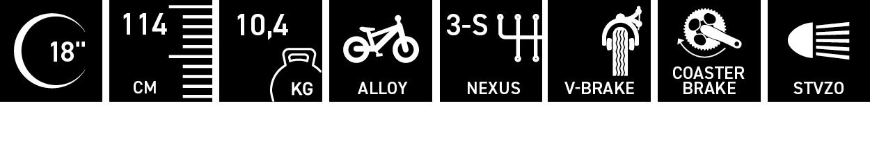 Facts für niXe street alloy 18