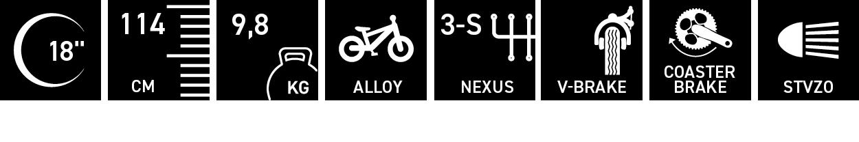 Facts für XXlite street alloy 18