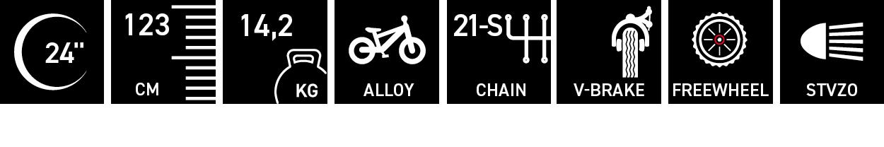 Facts für chiX twin alloy 24