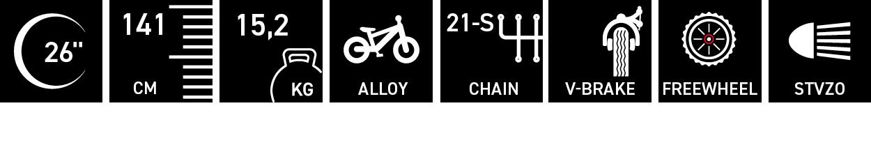 Facts für chiX twin alloy 26